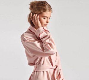 women's silk robes