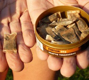 mint tobacco free pouches